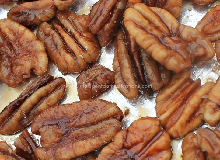 Sweet & Salty Candied Pecans Recipe 1342 x 976 at www.intelligentdomestications.com