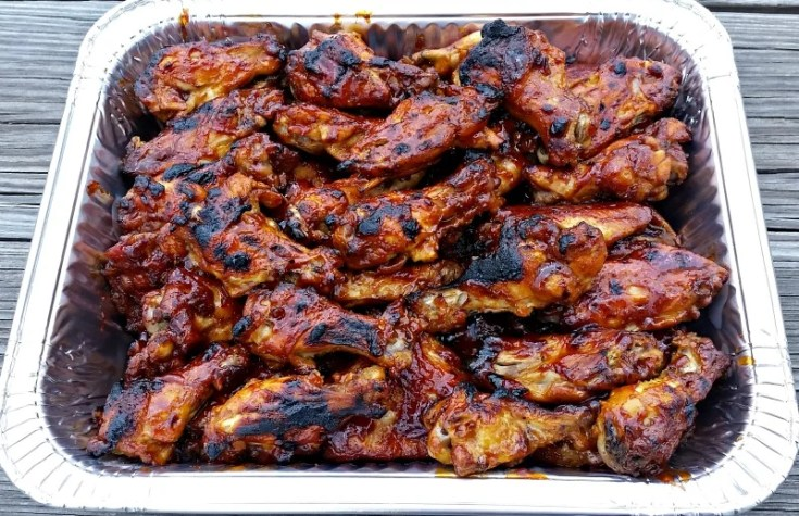 3 Ingredient Crockpot BBQ Chicken Wings