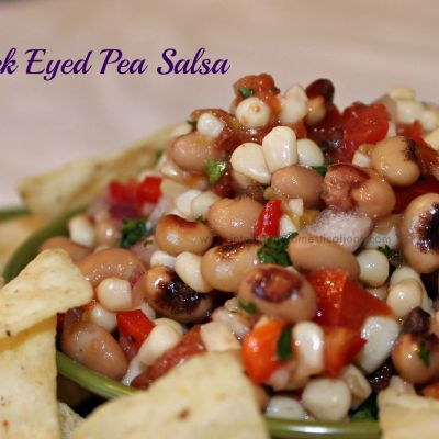 Black Eyed Pea Salsa