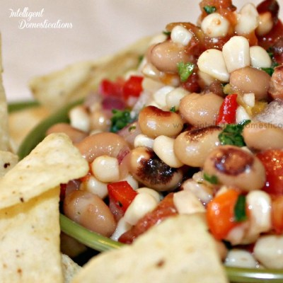 Black Eyed Pea Salsa