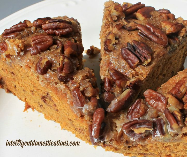 Crockpot Struesel Pumpkin Coffee Cake 3.intelligentdomestications.com