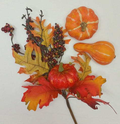 Fall pick for Cornucopia wreath