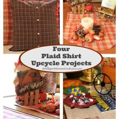 Upcycle Plaid Shirts Into Home Decor