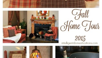 my 2015 fall home tour - Domestications Home Decor
