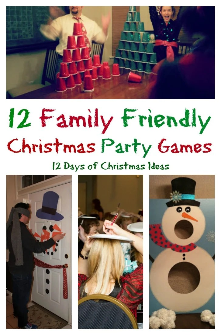 Classroom Party Ideas For Christmas ~ Family friendly party games for days of christmas