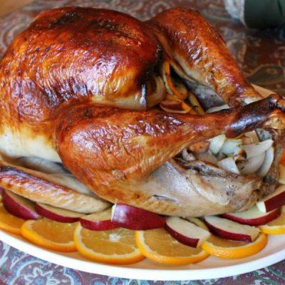 Citrus & Herb Brine Roasted Turkey