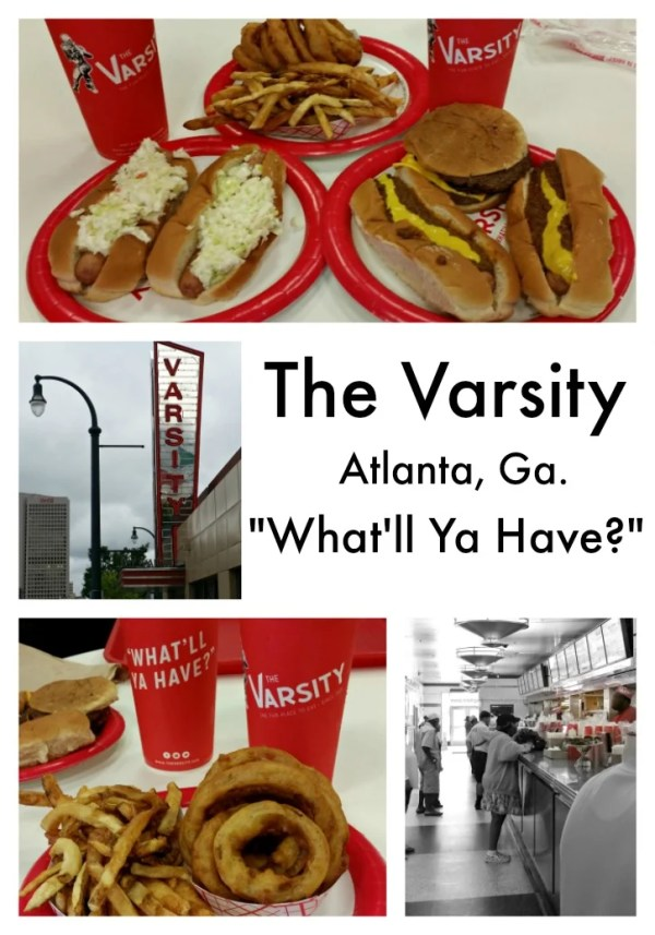 The Varsity in Atlanta has been serving those famous hot dogs for many years #whatllyahave #Varsity #hotdogtour