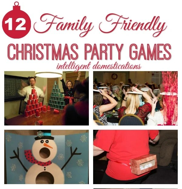 Christmas Party Games Ideas For Adults: 12 Family Friendly Party Games For 12 Days Of Christmas