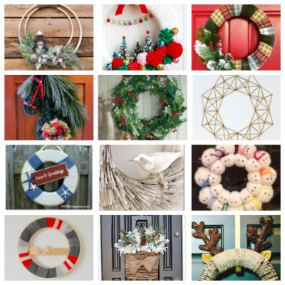 12 Unique DIY Christmas Wreath Ideas