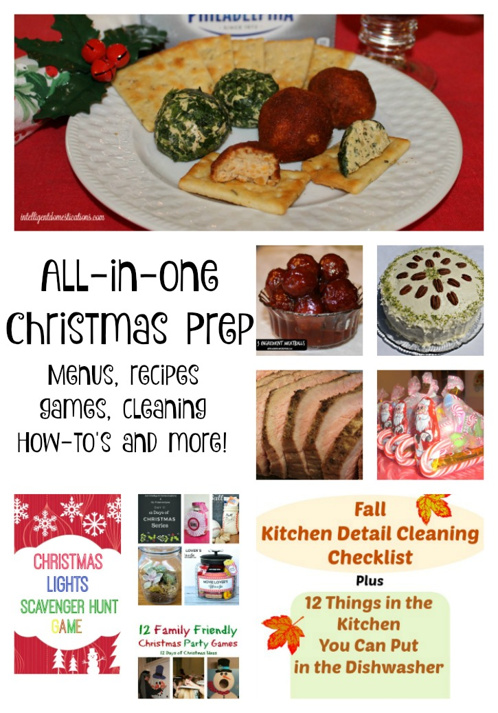 All In One Christmas Prep Ideas