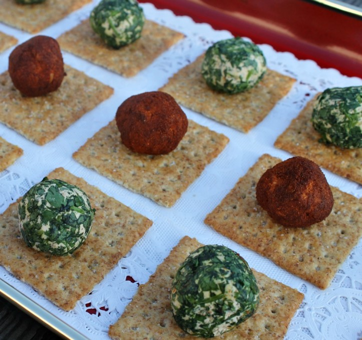 Easy Recipes for Mini Cheese Balls.www.intelligentdomestications.com