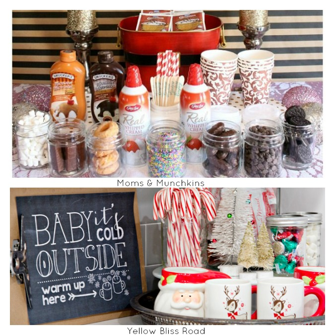 Hot Bar Ideas 2 for 12 Days of Christmas