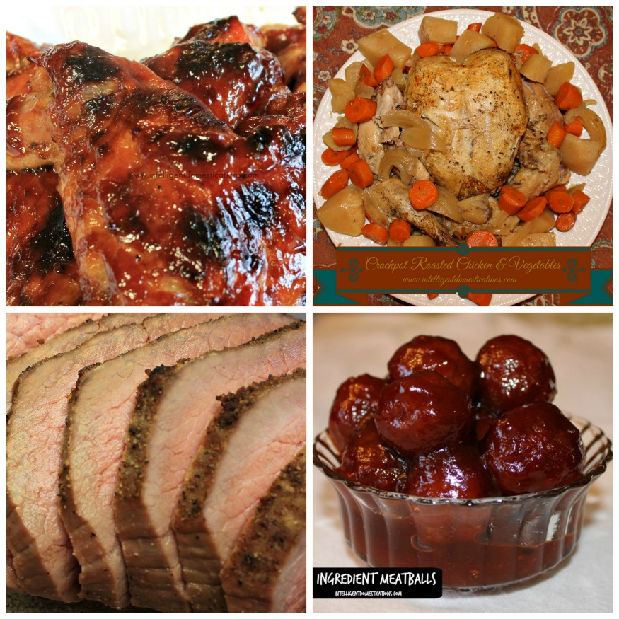 Meat choices for Christmas entertaining.intelligentdomestications.com