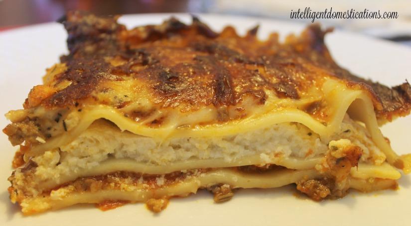 Bertolli Italian Sausage & Beef Lasagna.intelligentdomestications.com