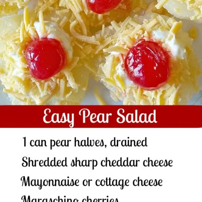 Southern Pear & Cherry Salad