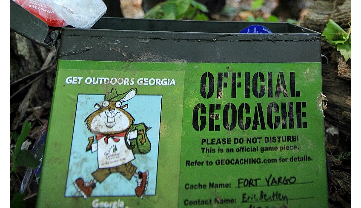 How to geocache at Georgia State Parks