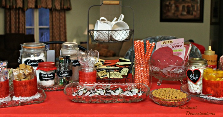 Valentine Season Hot Cocoa Bar Ideas at Intelligent Domestications