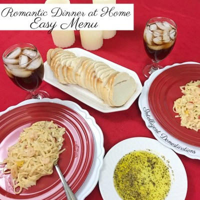 Romantic Date Night Menu for Home