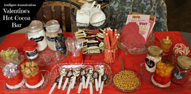 Valentine Hot Cocoa Bar Ideas at Intelligent Domestications