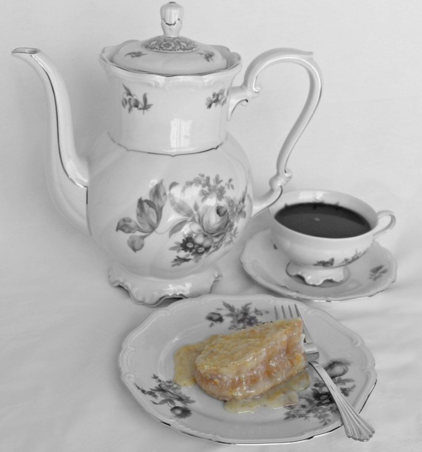Orange Blossom Cake for your tea party.intelligentdomestications.com