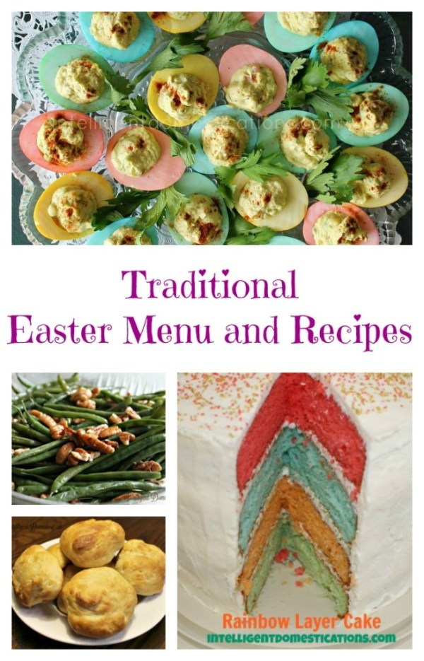 Traditional Easter Menu and Recipes