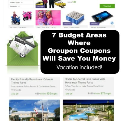 7 Budget Areas Where Groupon Coupons Will Save You Money