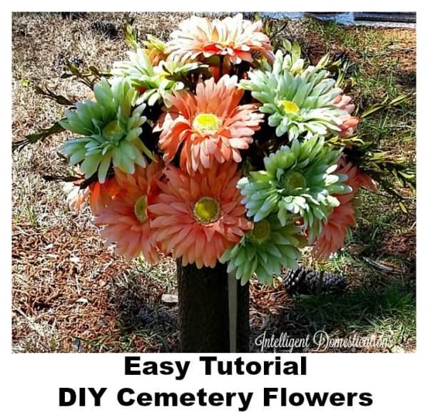 Easy-tutorial-DIY-Cemetery-Flowers