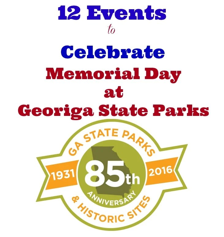 12 Events to Celebrate Memorial Day at Georgia State Parks in 2016
