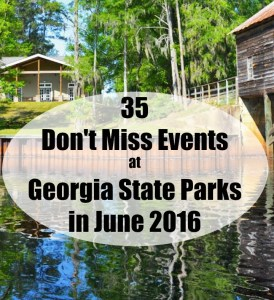 35 Don't Miss Events at Georgia State Parks in June 2016