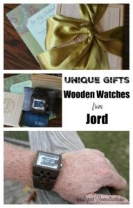 Find unique gifts with wooden watches from Jord at woodwatches.com