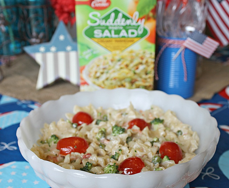 Make it a Suddenly Salad Summer by hosting a Summer Salads party with your friends and family
