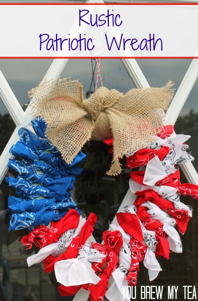 patriotic-bandana wreath