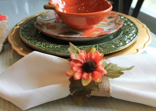 diy burlap fall napkin rings intelligent domestications
