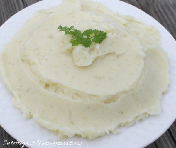 Homemade Mashed Potatoes recipe