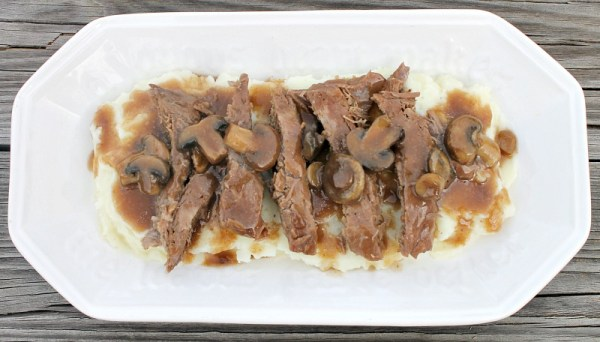 How to cook flatiron steak. Crockpot Flatiron steak recipe. Mushrooms optional. How to cook flatiron steak in the Crockpot.