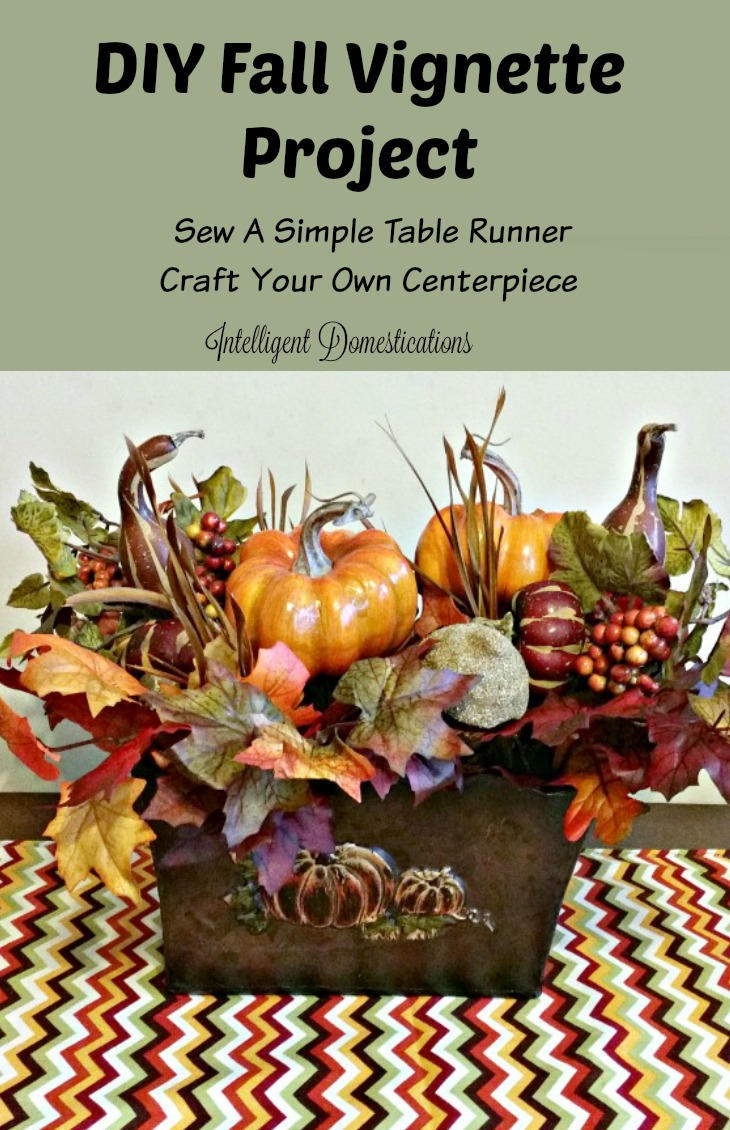 Fall vignette craft projects intelligent domestications for Fall diy crafts pinterest