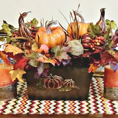 Fall Vignette Craft Projects