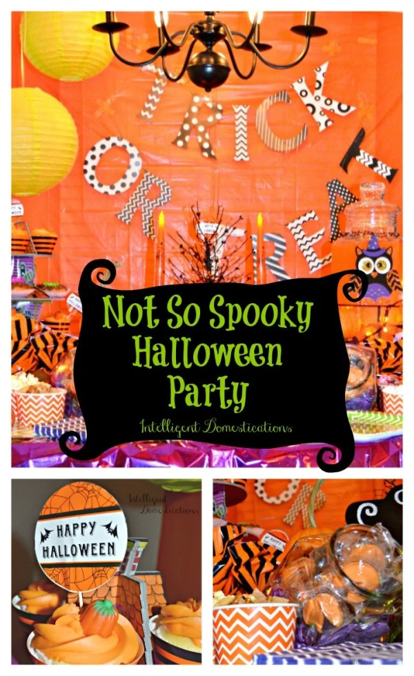 Not So Spooky Halloween Party Ideas. How to host a Not So Spooky Halloween Party. Where to find cute supplies for a Not So Spooky Halloween party. #halloweenparty