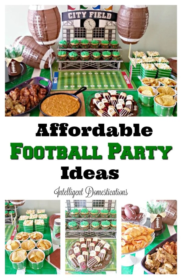 Affordable Football party ideas. Football party. Football party ideas.