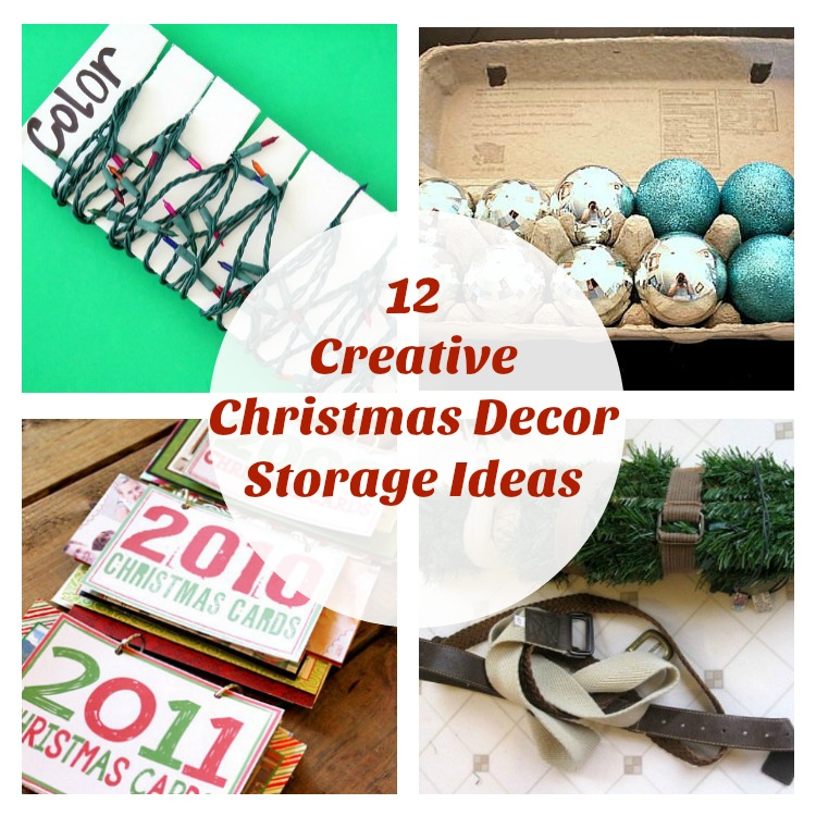 Creative Home Decor Youtube: 12 Creative Christmas Decoration Storage Ideas