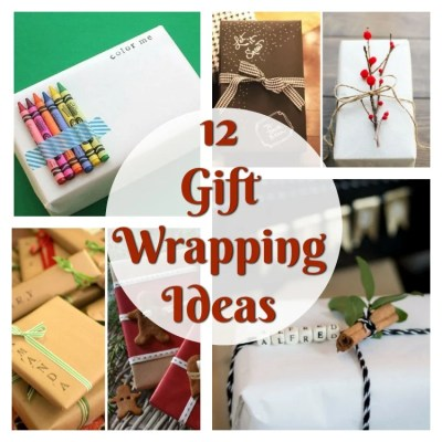 12 Gift Wrapping Ideas