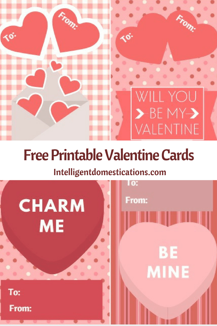image relating to Free Printable Valentine Cards known as Absolutely free Printable Valentines Working day Playing cards