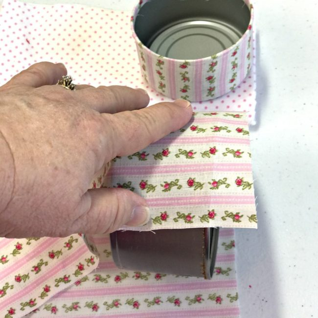 How To Make A Two Tier Pin Cushion. Repurpose food cans into craft room storage. Easy upcycle project tutorial