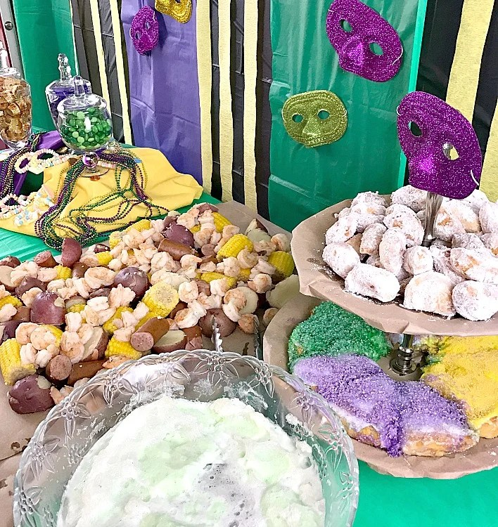 Parties Always Mean Good Food And Mardi Gras Takes That To Another Level With Menu Items Steeped In Deep Traditions Louisiana Style