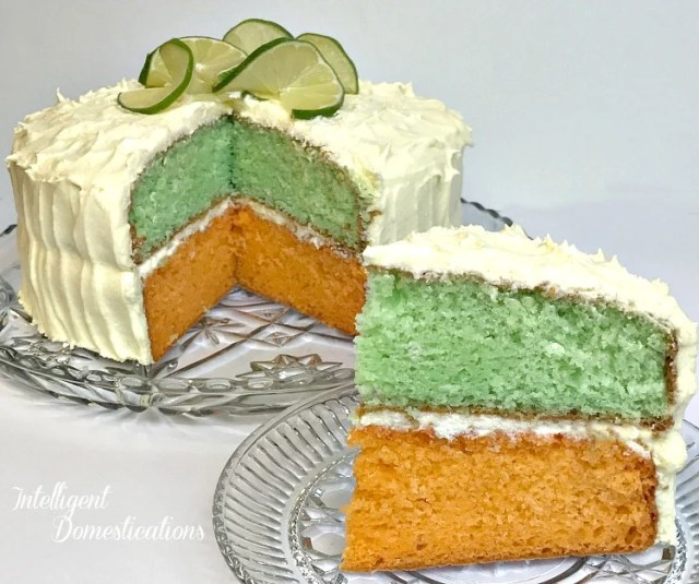 Citrus Cake Recipe with Lemon Lime Cream Cheese Frosting. Easy Citrus Cake recipe