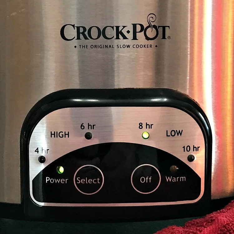 My all time favorite Crockpot for family size weeknight meals