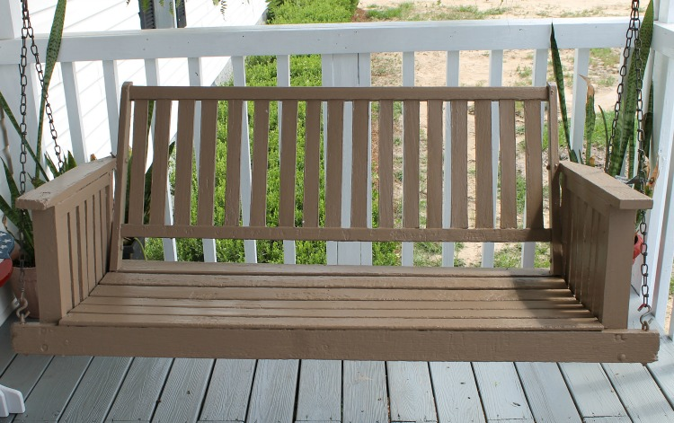 Porch-swing-makeover-After-picture.-Painted-with-DecoArt-Pergola