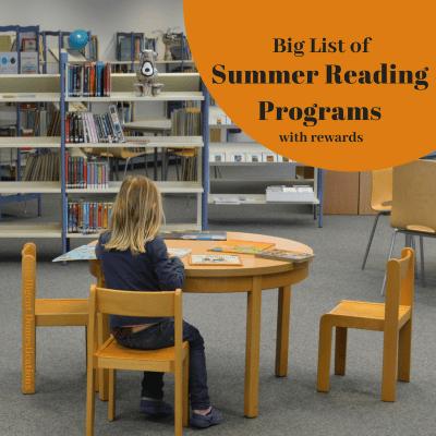 2018 Summer Reading Programs with rewards. Summer Reading for children of all ages. #summerreading #summerreadingprograms #kidssummeractivities