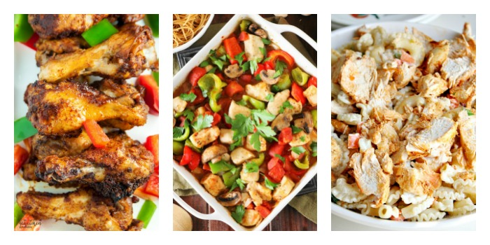 Our Features this week are Weeknight Chicken Dinner Recipes and this collection has been shared many thousands of times due to their popularity!