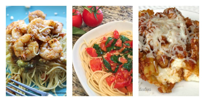 Weeknight Pasta Dishes. Pasta Recipes for weeknight meals